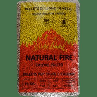 pellet natural fire