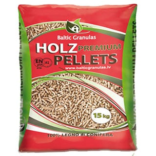 holz premiium pellets red