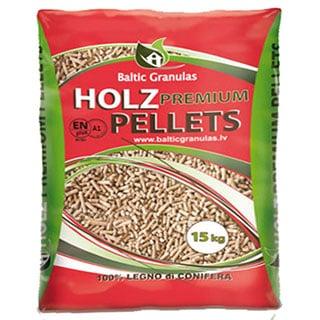 holz premiium pellets red